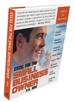Excel for the Small Business Owner Book