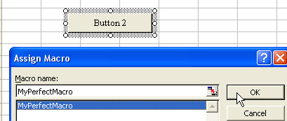 Assign macro to a button
