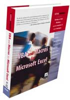 VBA and Macros for Microsoft Excel Book Picture