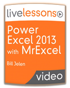 LiveLessons Power Excel 2013 DVD