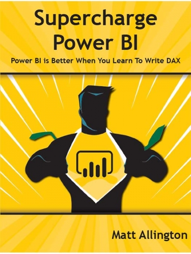Supercharge Power BI with DAX book